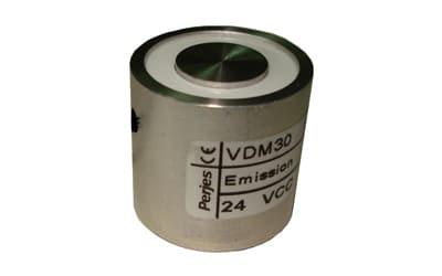 Ventouse électromagnétique pour la sécurité incendie des professionnels, Verrouillage électromagnétique