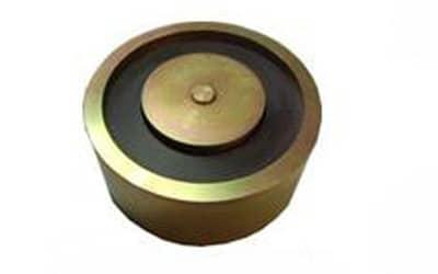 Ventouse électromagnétique pour la sécurité incendie des professionnels, ventouse à rupture ronde électromgnétique