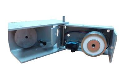 Déclencheur porte retenue électromagnétique pour porte coupe-feu