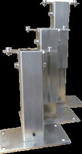 ventouse support boitier électromagnétique