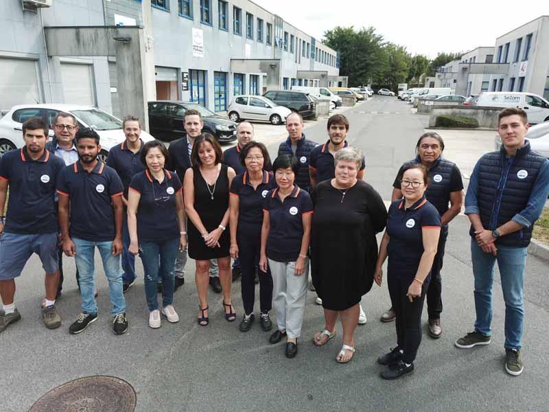 L'équipe Perjes systèmes de verrouillage électromagnétique innovants